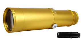 Monoculos Aumento 10x Lente 50mm Bolsa Wyj-m1050 Gold
