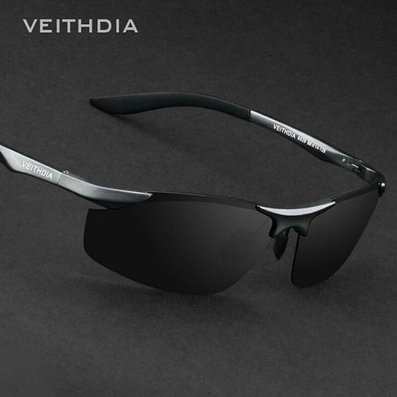 Óculos De Sol Polarizado100% Uva Uvb 40 Importado Veithdia