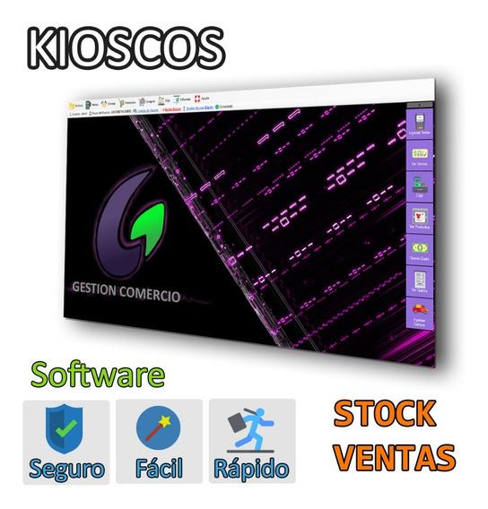 Gestión Comercio. Software Kioscos Drugstores Stock Ventas