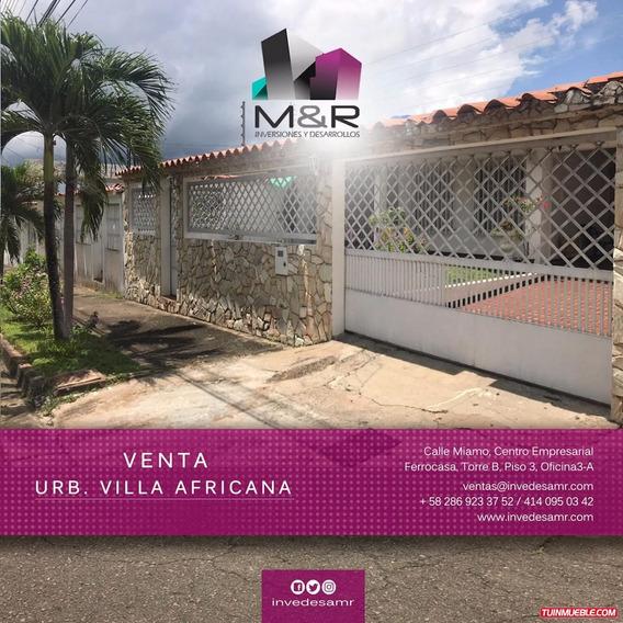 Casa En Venta Puerto Ordaz Villa Africana M&r-142