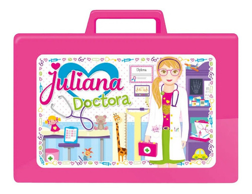 Juliana Doctora Valija Chica Varios Accesorios Tv Edu Full