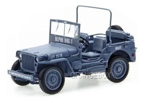 Jeep Willys Mb Wwii Army 1941 Autoworld 1:18