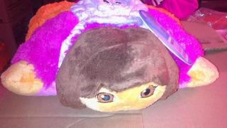 Dora La Exploradora Pillow Pets 11 Pulgadas Extendida