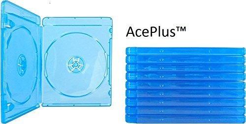 Aceplus Bluray Case Double 10 Piezas Con Manga Transparente