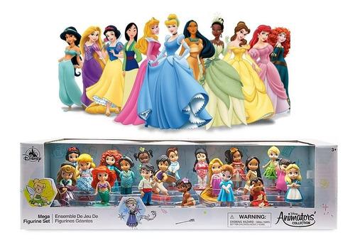 Figura Muñeca Mega Set Princesas Disney Animator Disney