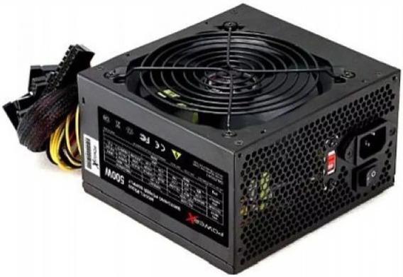 Fonte De Alimentação Powerx Px500 500w Box C/cabo