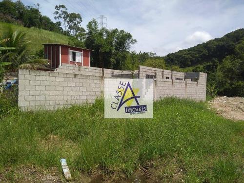Terreno À Venda, 135 M² Por R$ 110.000 - Massaguaçu - Caraguatatuba/sp - Te0064