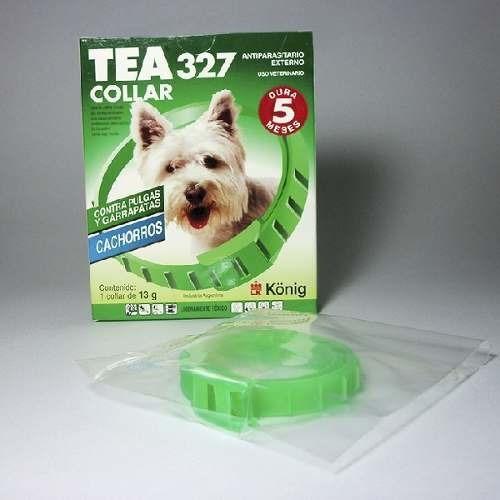 Collar Para Perros Pequeños Antipulgas Y Garrapatas Tea 327.
