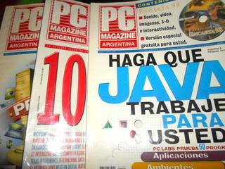 3 Revistas De Computación Pc En Buen Estado