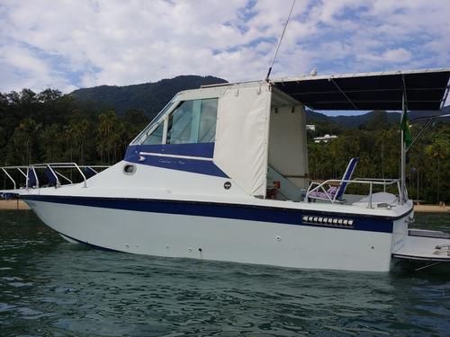 Lancha Carbrasmar Marlin 26 Pés Motor Volvo Penta Aqad41p