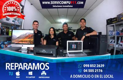 Servicio Tecnico Laptops, Computadoras, Mac, Impresoras