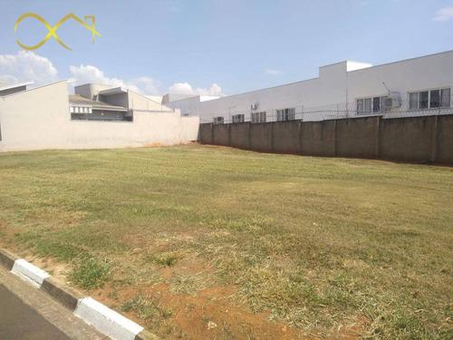 Imagem 1 de 23 de Terreno À Venda, 680 M² - Condomínio Terras Do Fontanário - Paulínia/sp - Te0603