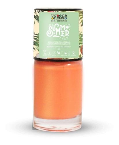 Esmalte It ´s Summer Time Hipoalergênico - 636 Coral Pink
