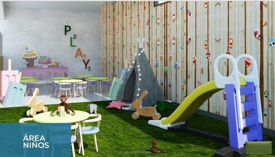 Proyecto De Apartamentos En Construcción En Evaristo Morales