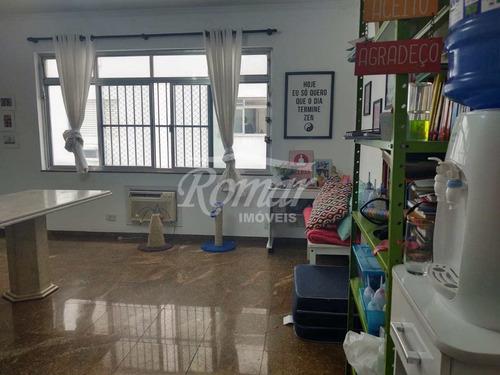 Apartamento Com 3 Dorms, Gonzaga, Santos - R$ 650 Mil, Cod: 1080 - V1080
