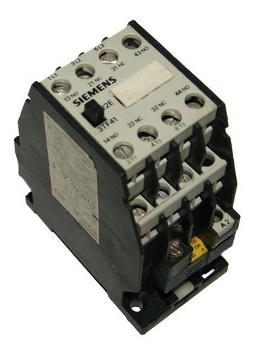 Contactor 20 Amp - Bobina 110v Siemens 3tf41 - Cod. 01134