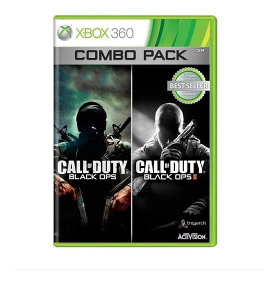 Call Of Duty Black Ops 1 + Black Ops 2 - Xbox 360 - Usado