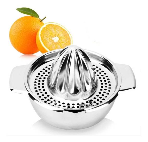 Exprimidor Naranjas Limones Citricos Manual Acero Inoxidable