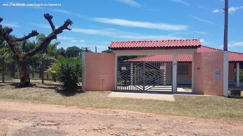 Chácara Para Venda Em Tatuí, Vale Dos Lagos, 3 Dormitórios, 1 Suíte, 2 Banheiros, 10 Vagas - 545_1-1392019