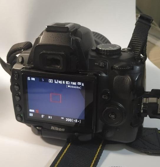 Conjunto De Câmera Nikon D5000 + Conjunto De Lentes +mochila