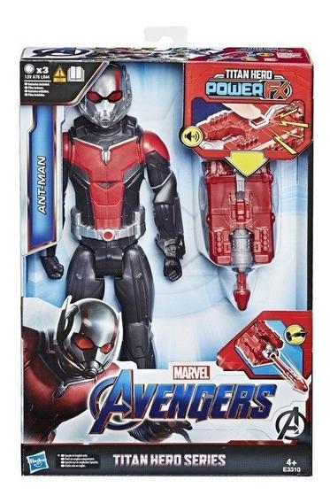 Boneco Avengers Homem Formiga 30cm Power Fx Com Som - Hasbro