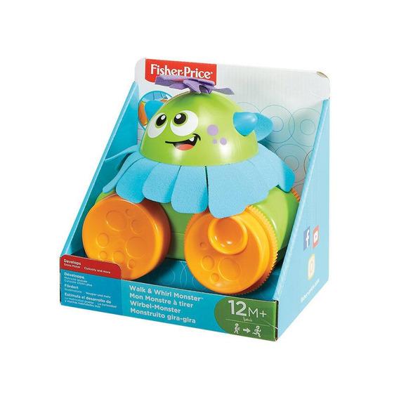 Fisher Price Monstrinho Animado Anda Comigo Fhg01 - Mattel