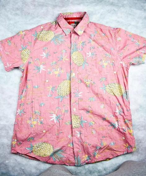 Camisa Tipo Hawaiana Mossimo Hombre Talla L