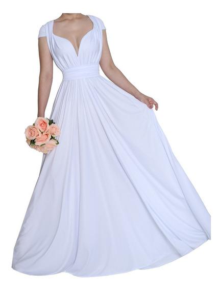 Vestido Longo Noiva Ensaio Fotografico Varias Formas, 238
