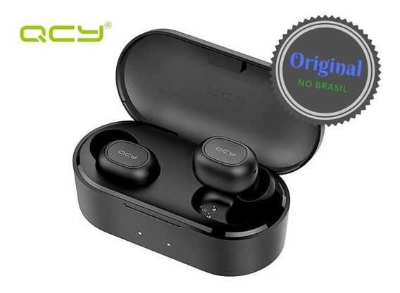 Fone Bluetooth Sem Fio Qcy Qs2 T1 2019 Pronta Entrega + Case