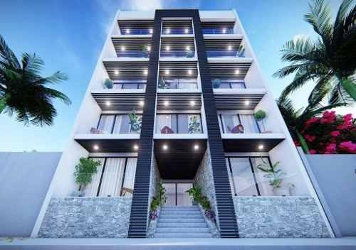 (crm-5832-124) Departamento En Playa Del Carmen Vanessa Condos Excelente Oportunidad