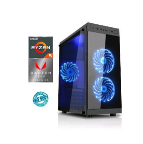 Computador Gamer Amd Ryzen 5 2400g 8gb Hd 1tb Placa Radeon