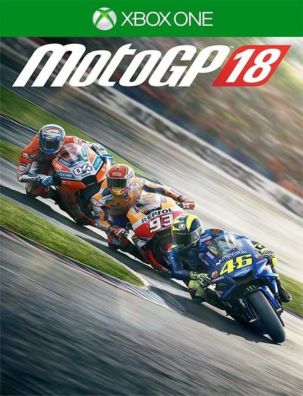 Motogp 18 Xbox One - 25 Dígitos (envio Já)