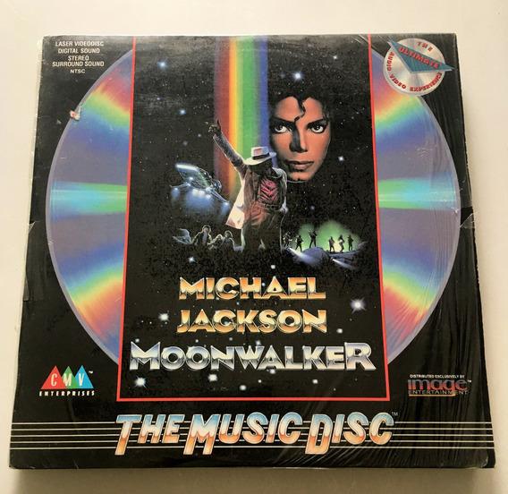 Michael Jackson - Moonwalker . Laserdisc Impecable!
