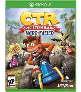 Crash Team Racing Nitrofueled Oxide Xbox One Offlin