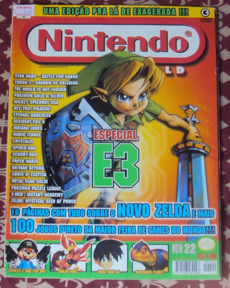 Revista Nintendo World Ed. Nº 22
