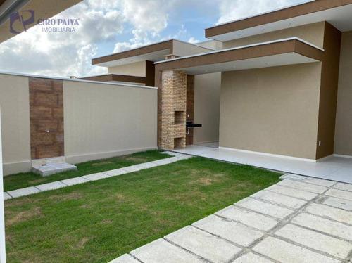 Casa Com 3 Dormitórios À Venda, 100 M² Por R$ 310.000,00 - São Bento - Fortaleza/ce - Ca3133