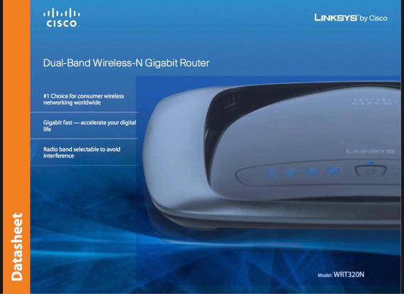 Router Linksys Cisco Wrt320n - Conectividad y Redes en