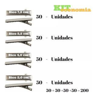 Bico De Pato Acessórios Para Artesanato Kit Total 200 Bico