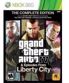 Jogo Gta Iv The Complete Edition Xbox 360 Original Fisico