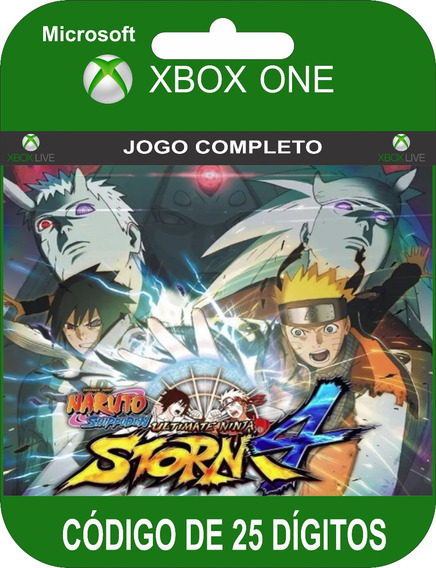 Naruto Shippuden Storm 4 Xbox One Codigo 25 Digitos
