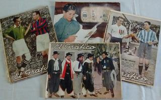 Revistas El Grafico - Antiguas 1930 A 1936 - Venta X Numero