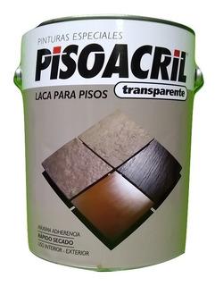 Laca P/piso Pisoacril Plavicon Transparente X4