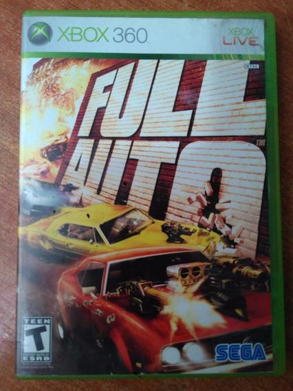 Full Auto Xbox 360 Original Completo Mídia Física