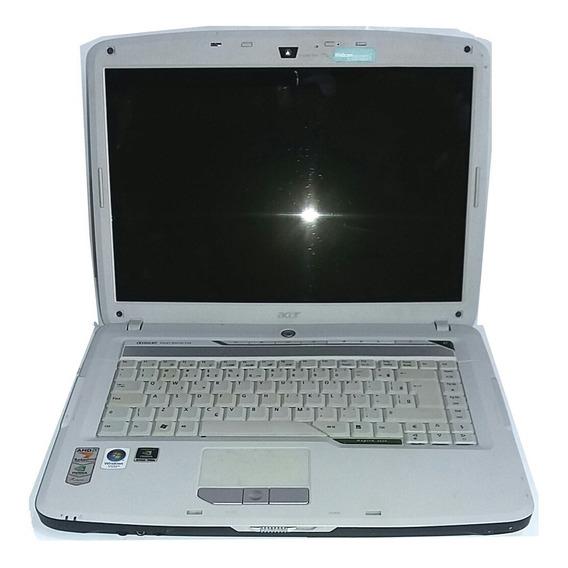 Notebook Acer Processador Tela Ñ Tem Hd Memória Peças Sucata