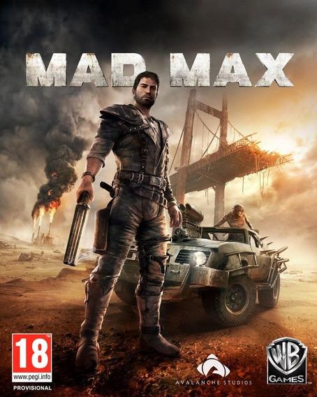 Mad Max Pc Steam Key Digital