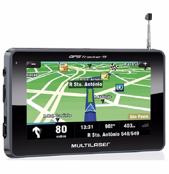 Gps Automotivo Multilaser Tracker Iii-tela 4.3 Tv/fm-gp 034