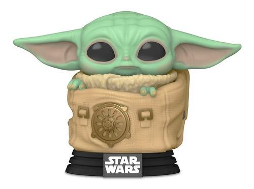 Boneco Funko Pop Star Wars Mandalorian Baby Yoda Grogu 405