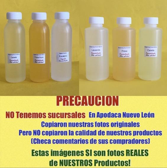 5 Esencias Aromaticas 100ml Concentrada Promocion Vela Jabon