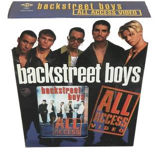 Edición De Colección Back Street Boys All Access Video Y Cd