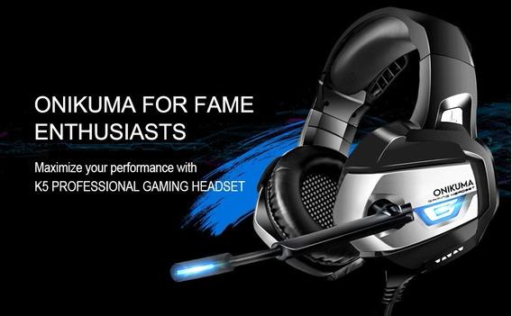 Audifonos Gaming Onikuma 7.1 Sonido Envolvente
